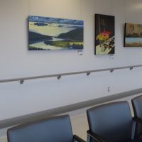 Art in Public Spaces at Royal Inland Hospital Clinical Services Building