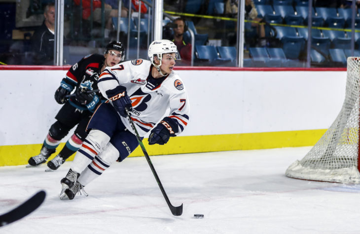 BLAZERS ACQUIRE PICKS FOR ZAZULA – Kamloops Blazers